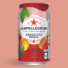 Sanpellegrino Aranciata Rossa, beverage at blood orange flavour
