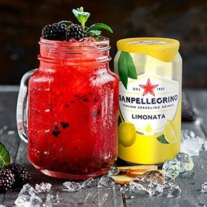 Gingermore mocktail with Sanpellegrino Limonata