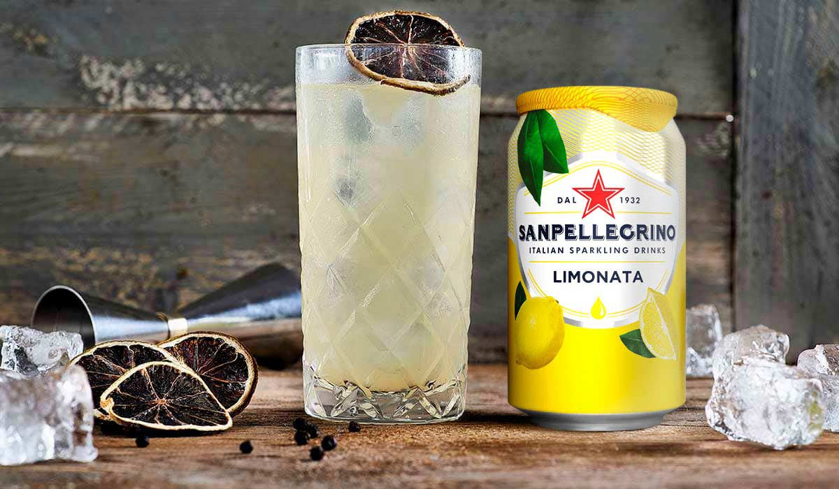 The Spicy Limonata Collins Mocktail