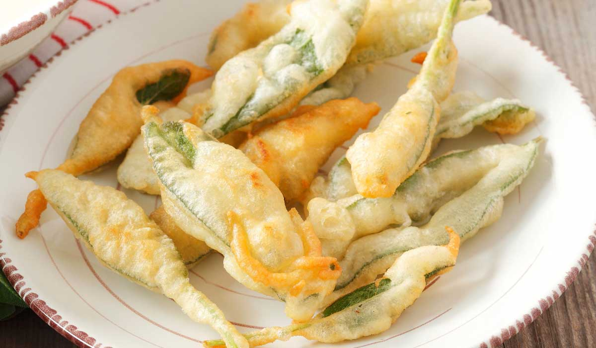 Fried sage and anchovies recipes