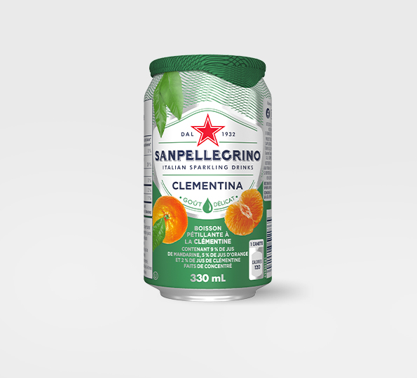 Sanpellegrino Clementina – Canette Front