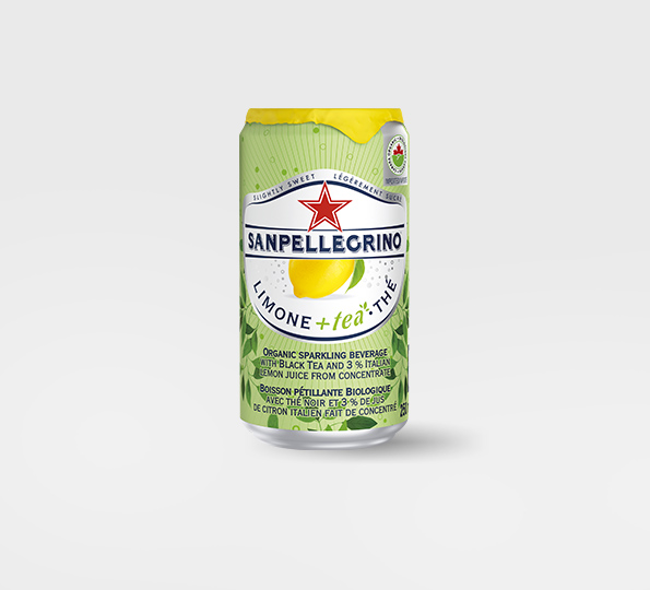 Sanpellegrino Limone +Tea – Can front