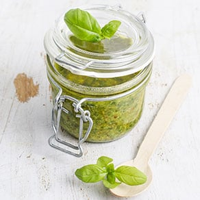 The Pesto alla Genovese is a sauce from the city of Genoa in Liguria