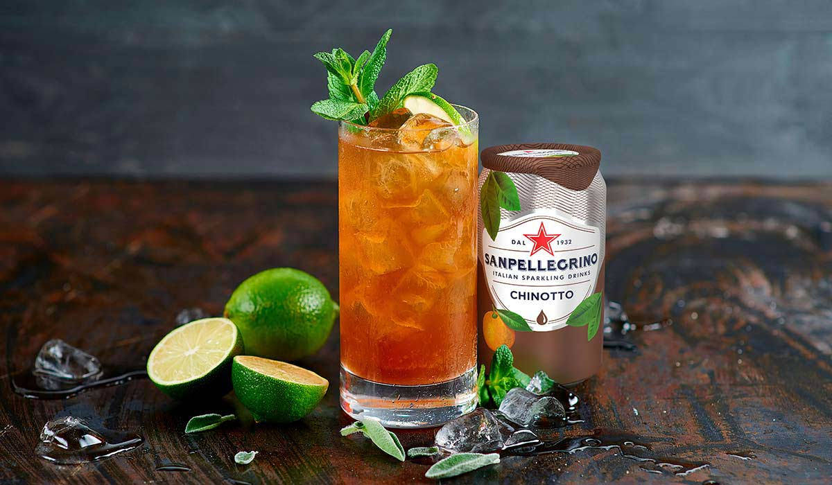 Green Chinotto met Sanpellegrino Chinotto