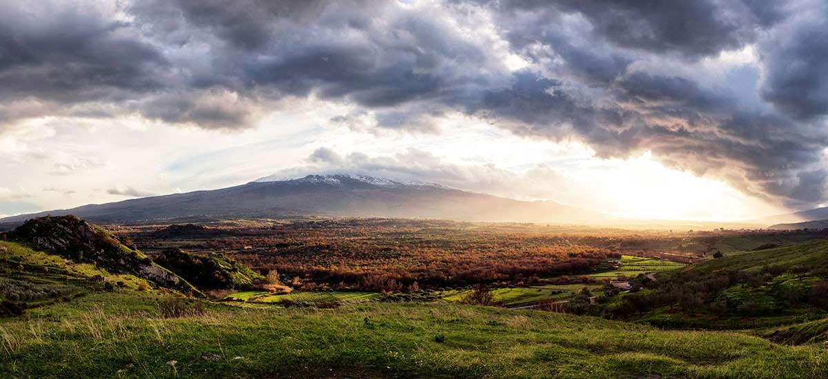 Mount Etna history and surrounding communities