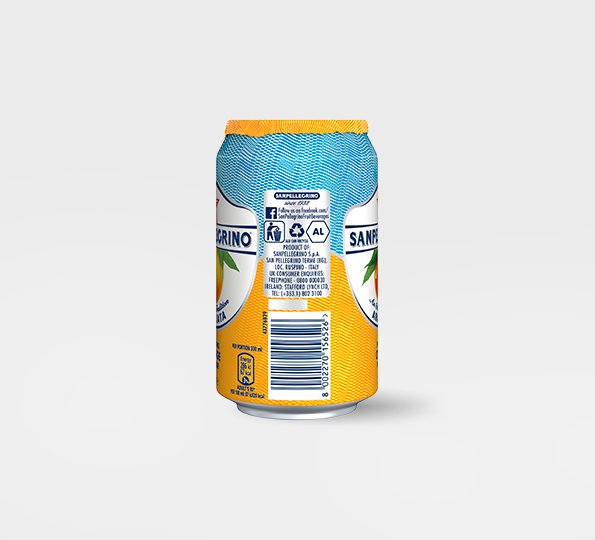 Sanpellegrino Aranciata – Can right side