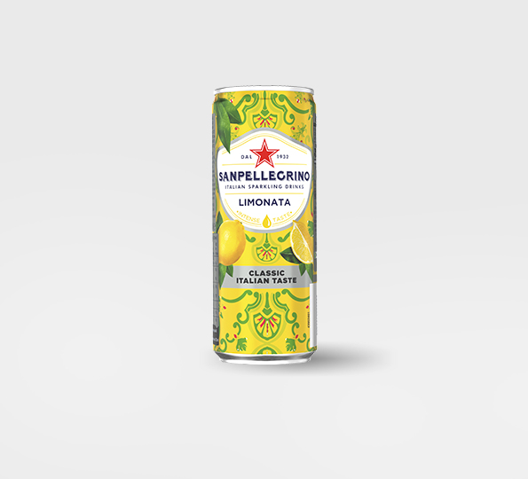 Can of Sanpellegrino Limited Edition Limonata