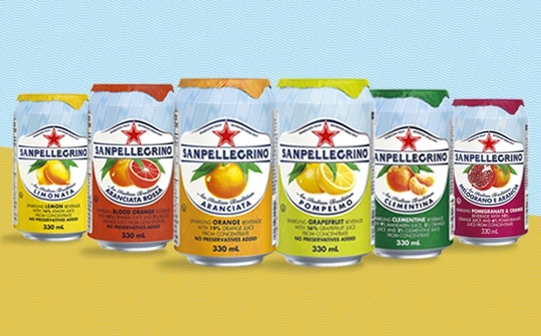 Sparkling Fruit Beverages