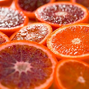 Italian Blood Oranges Slices details