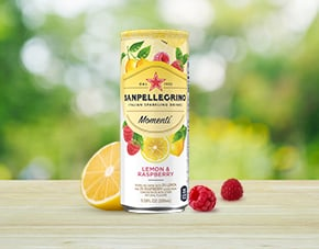 Momenti Lemon and Raspberry Flavor