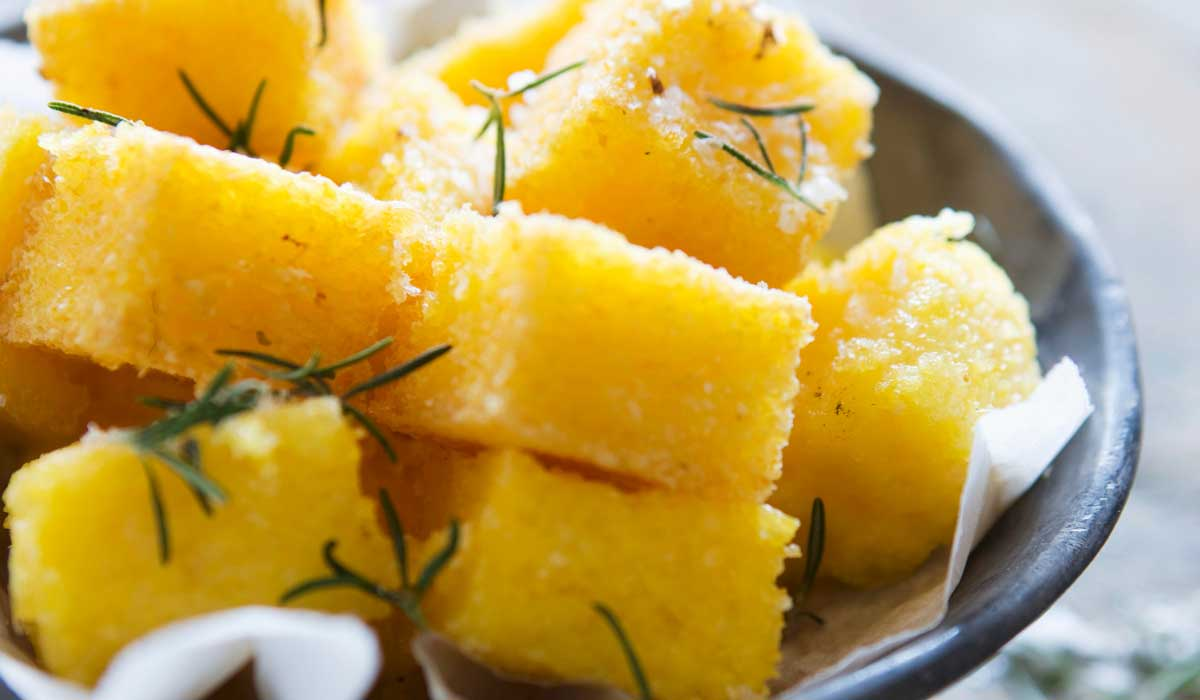 Fried polenta recipe