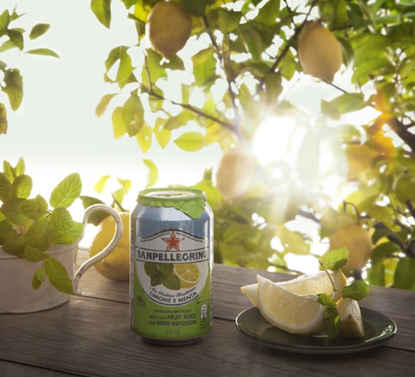 Sanpellegrino Limone e Menta: perfect balance between sour and sweet