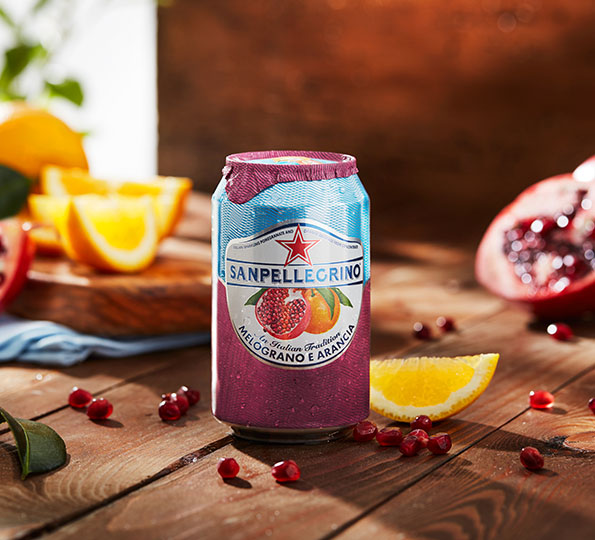 Sanpellegrino Melograno e Arancia: the perfect summer drink
