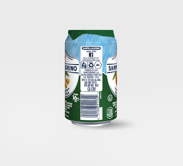 Sanpellegrino Clementina – Can left side
