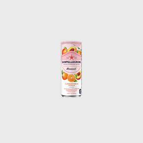 Sanpellgrino Momenti clementine and peach 330ml can