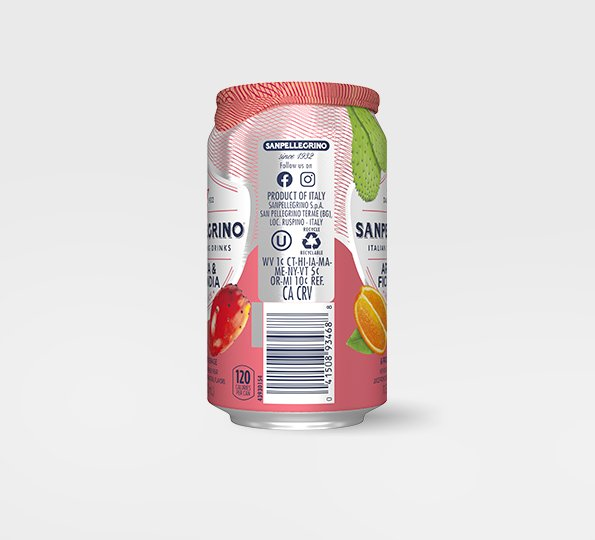 Sanpellegrino Arancia & Fico d'India – Can Right Side