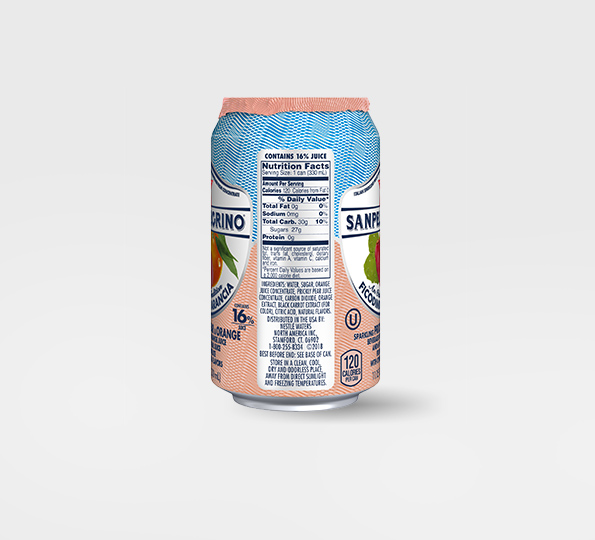 Sanpellegrino Ficodindia e Arancia – Can right side