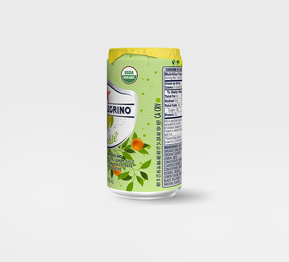 Sanpellegrino Limone &tè – Can right side