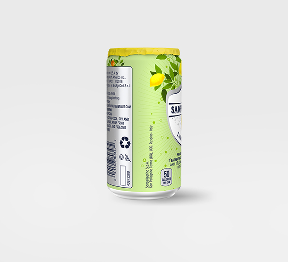 Sanpellegrino Limone &tè – Can left side