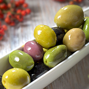 Olives (black or green, or mix)