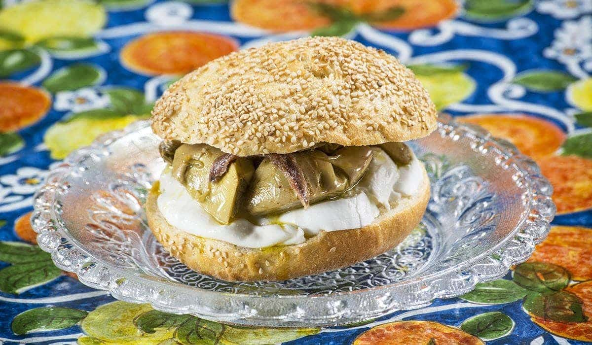 This recipe with buffalo mozzarella is destined to become your new favourite sandwich