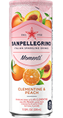 momenti clementine and peach drink details